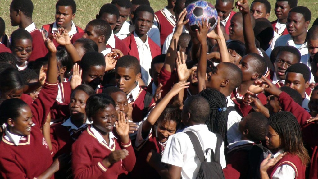 The Ball at the Bambino School, Malawi
