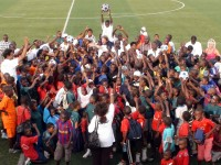 Tournament celebrations in Dar es Salaam